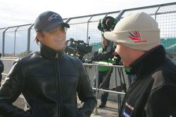 Nelson A. Piquet et Cesar Camapanico