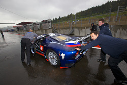Matech Competition Ford GT pushed on pitlane