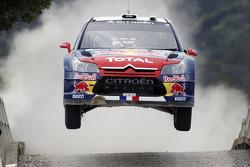 Sébastien Loeb et Daniel Elena, Citroën C4, Citroën Total World Rally Team