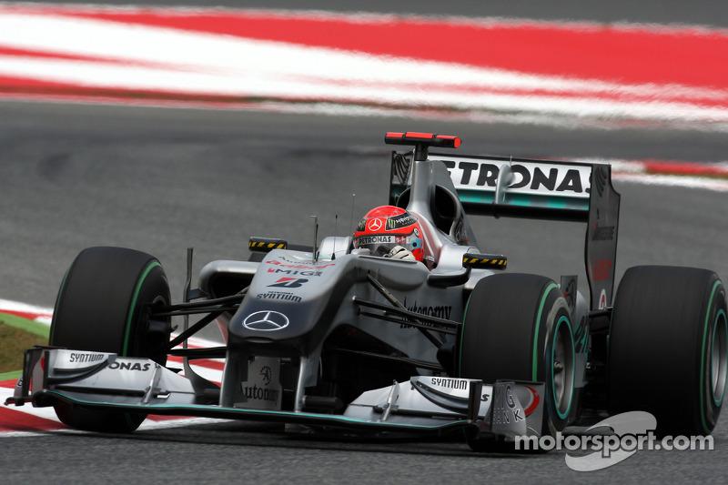 2010: Mercedes
