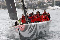 Citroën Total World Rally Team competes against Ford in a yacht race