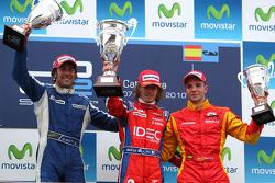 Podium: winner Charles Pic, second place Giacomo Ricci, third place Dani Clos