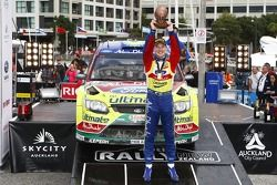 Podium: winner Jari-Matti Latvala