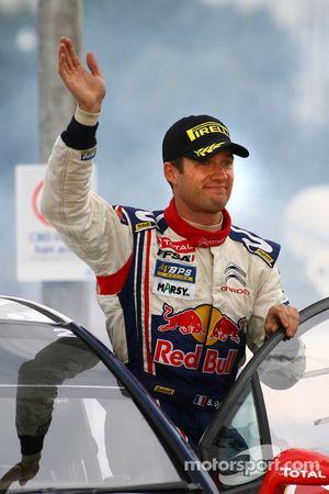 Podium: second place Sébastien Ogier