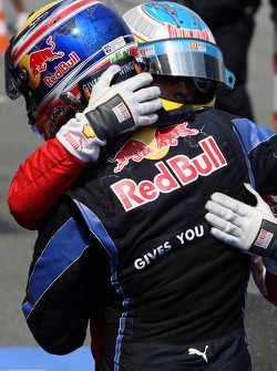 Fernando Alonso, Scuderia Ferrari en Mark Webber, Red Bull Racing