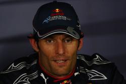 Post-race press conference: race winner Mark Webber, Red Bull Racing