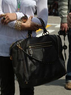 The bag of Mila Wiegand wife of Kai Ebel