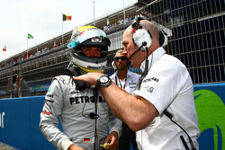 Nico Rosberg, Mercedes GP Petronas en Jock Clear, Mercedes GP Petronas, Senior Race Engineer