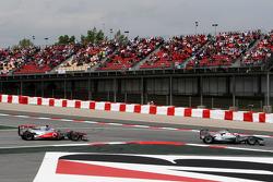 Jenson Button, McLaren Mercedes, Michael Schumacher, Mercedes GP Petronas