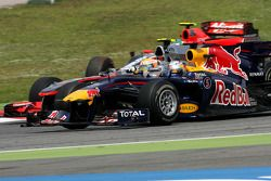 Лукас ди Грасси, Virgin Racing, Себастьян Феттель, Red Bull Racing и Льюис Хэмилтон, McLaren Mercede