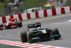 Jarno Trulli, Lotus F1 Team, T127