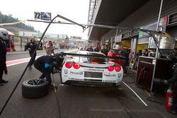 Pitstop #72 Luc Alphand Aventures Corvette C6.R: Julien Jousse, Stephan Gregoire, David Hart