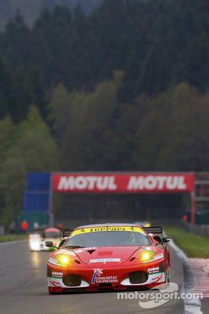 #96 AF Corse Ferrari F430 GT: Gianmaria Bruni, Jaime Melo