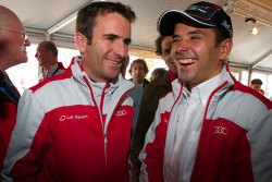 Audi meet the drivers event: Romain Dumas and Benoit Treluyer