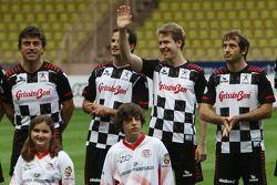Vitantonio Liuzzi, Force India F1 Team, Sebastian Vettel, Red Bull Racing, Jarno Trulli, Lotus F1 Te