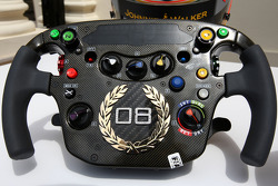 Lewis Hamilton, McLaren Mercedes Monaco editiion steering wheels with Steinmetz Diamonds