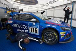 L'aire de paddock de Volkswagen Motorsport