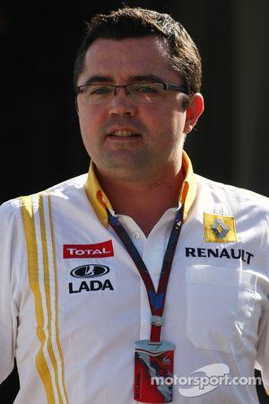 Eric Boullier, director de equipo, Equipo Renault F1