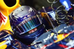 Sebastian Vettel, Red Bull Racing casco Mónaco