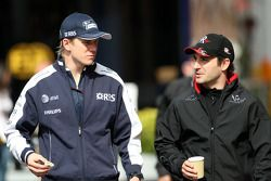 Nico Hulkenberg, Williams F1 Team, Timo Glock, Virgin Racing