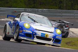 #46 Lammertink Racing with Toyo Tires Porsche 997 GT3 Cup: Tom Coronel, Duncan Huisman, Kikuchi Yasu