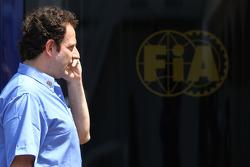 Matteo Bouciani, Basın Sorumlusu for Jean Todt, FIA başkanı