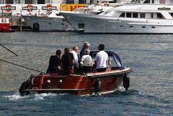 Flavio Briatore ve Bernie Ecclestone