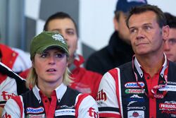 Réunion des pilotes : Sabine Schmitz et Edgar Althoff