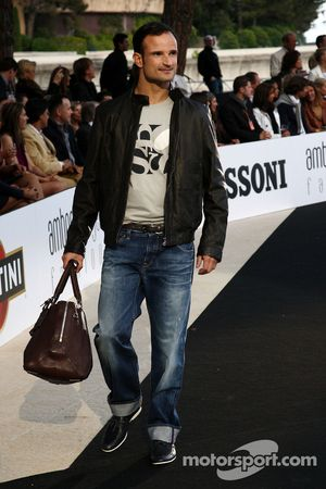 Vitantonio Liuzzi, Force India F1 Team, Amber Lounge moda gösterisinde