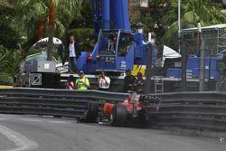Choque de Fernando Alonso, Scuderia Ferrari