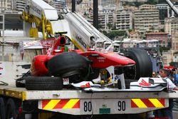 Fernando Alonso, Scuderia Ferrari accidenté
