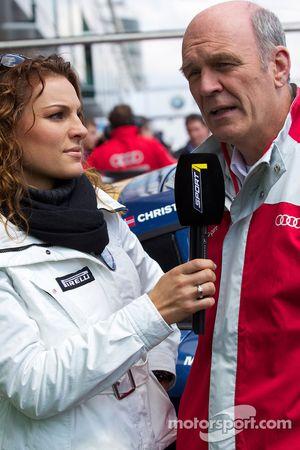 Christina Surer interviewt Dr. Wolfgang Ullrich