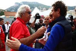 Flavio Briatore con John Elkann, nuevo presidente de Fiat Group