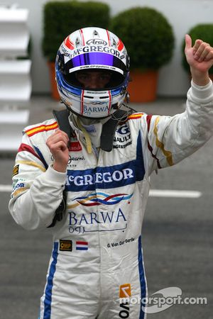 Second place Giedo van der Garde