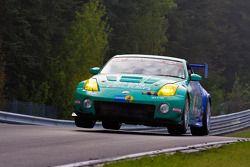 #44 Falken Motorsports Nissan Z33: Peter Dumbreck, Dirk Schoysman, Tetsuya Tanaka, Kazuki Hoshino