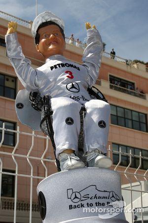 Un fan de Michael Schumacher, Mercedes GP Petronas