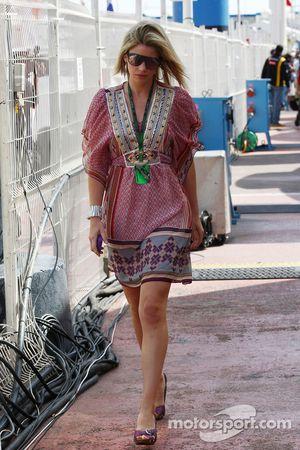 Isabell Reis, la novia de Timo Glock