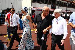Jennifer López y Bernie Ecclestone