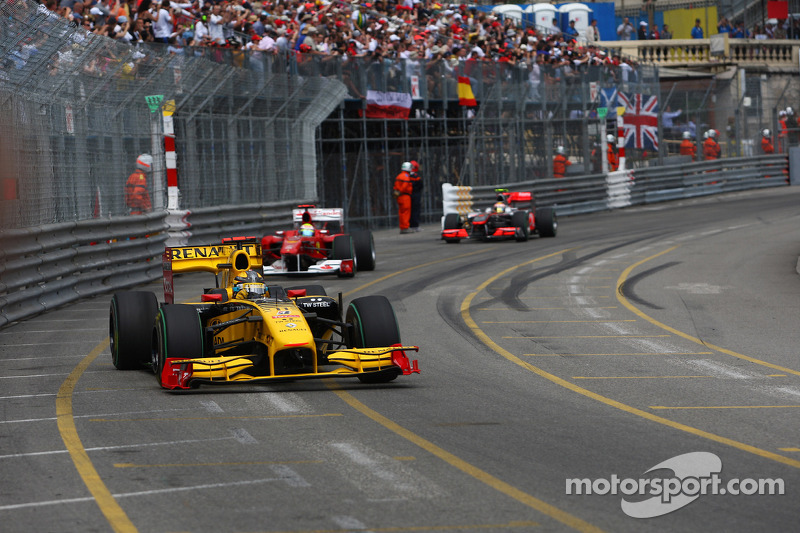 Robert Kubica, Grand Prix Monako 2010