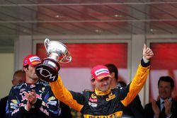 Podium: 3e Robert Kubica, Renault F1 Team