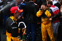 Podyum: 3. Robert Kubica, Renault F1 Team