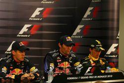 Sebastian Vettel, Red Bull Racing avec Mark Webber, Red Bull Racing et Robert Kubica, Renault F1 Team