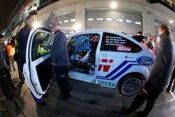 Pitstop #250 FH Köln Motorsport powered by Ford Ford Focus RS: Jari-Matti Latvala, Anja Wassertheure