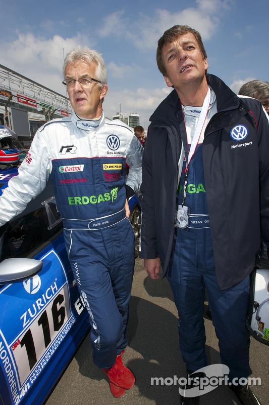 Peter Wyss en Stefan Gies