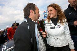 Christina Surer interviewt polesitter Marco Werner