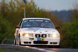 #202 BMW E36 318is: Kornelius Hoffmann, Karl-Heinz Willmann, Reiner Bardenheuer, Klaus Mathy