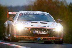#49 Audi R8:Alexander Krebs, Chris Vogler, Ellen Lohr, Guido Naumann