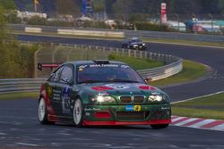 #105 BMW E46 M3: Frank Nöhring, Colin White, Lasse Osterild, Meyrick Cox