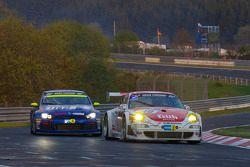 #40 Porsche 997 RSR: Klaus Abbelen, Sabine Schmitz, Edgar Althoff, Dieter Schornstein, #118 Volkswag