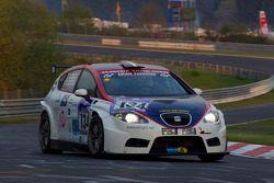 #134 Costa Ovest Motorsport Seat Leon: Sergio Negroni,Alexander Bolognesi, Mario Bertola, Umberto Nacamuli